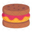 Cake Cookie Cream Cookie Biscuit Icon