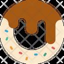 Cream Puff Dessert Pastry Icon