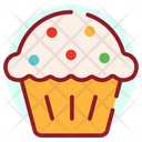 Creamed Cupcake Icon