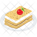 Creamy Pastry Platter Pastry Platter Food Icon