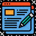 Create Blog Icon