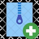 Create Archive Zip Icon