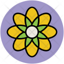 Created Flower Creative Icon