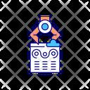 Infographic Content Creation Icon
