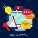 Creative Campaign Seo Icon