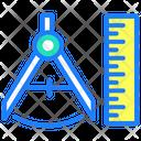 Creative Designing Tools Compass Tool Icon