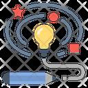 Creative Idea Art Icon