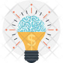 Idea Brain Creativity Icon