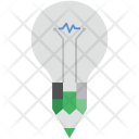 Creative Idea Bulb Icon