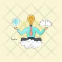 Creative Inventive Productive Icon