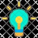 Creative Idea Idea Light Bulb Icon