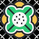 Creative Flower Decorative Icon
