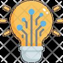 Creative Artificial Idea Icon