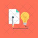 Creative Process Idea Icon