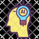 Ihead Creative Brain Creative Intelligence Icon