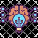 Ibrain Idea Creative Brain Creative Artificial Brain Icon