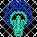 Itech Brain Creative Brain Creative Intelligence Icon