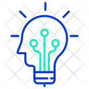 Imachine Mind Creative Brain Creative Intelligence Icon