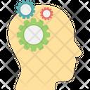 Creative Brain Creative Thinking Headgear Icon
