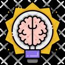 Creative Brain Brainstorming Creative Thinking Icon