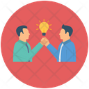 Creative Business Business Partnership Shake Hand Icon