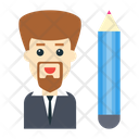 Creative Businessman Icon