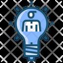 Idea Creative Business Icon