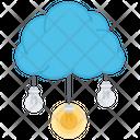 Air Cloud Brainstorm Icon