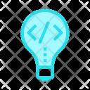 Idea Coding Creativity Icon