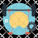 Brain Power Mind Icon