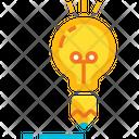 Creative Content Idea Innovation Icon