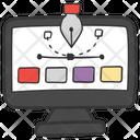 Creative Design Graphic Designing Designing Tools Icon