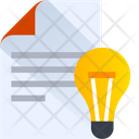 Creative Document Creative File Innovative File Icon