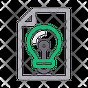 Idea Creative File Icon