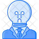 Creative Head Man Icon