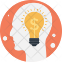 Business Idea Dollar Icon
