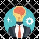 Creative Head Icon