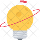 Planet Space Flag Icon