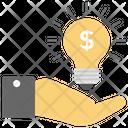 Creative Idea Innovative Idea Financial Idea Icon