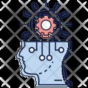 Creative Brain Bright Idea Creativity Icon
