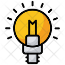Creative Idea Bright Idea Solution Icon