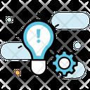 Innovative Idea Creative Idea Idea Management Icon
