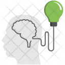 Bulb Mind Creative Icon