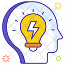 Idea Power Brain Energy Mind Power Icon