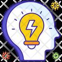 Idea Power Brain Energy Mind Power Icon