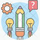 Creative Idea Creative Writing Innovation Icon
