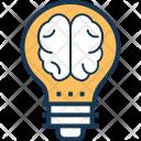 Creative Idea Brain Icon