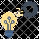 Digitalization Automation Idea Icon