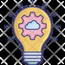 Creative Idea Development Idea Generation Icon