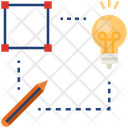 Create Idea Design Icon